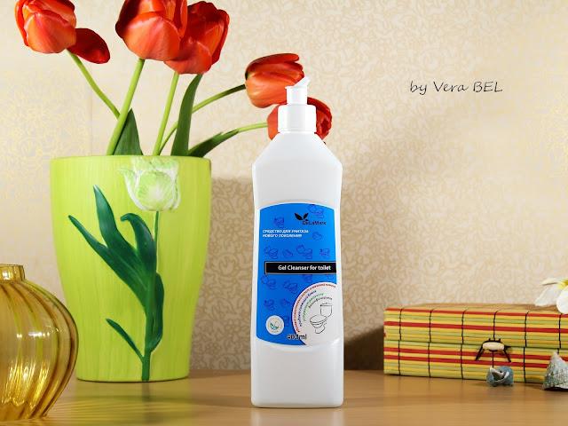 Sredstvo dlya unitaza novogo pokoleniya De La Mark, Gel Cleanser for Toilet De La Mark