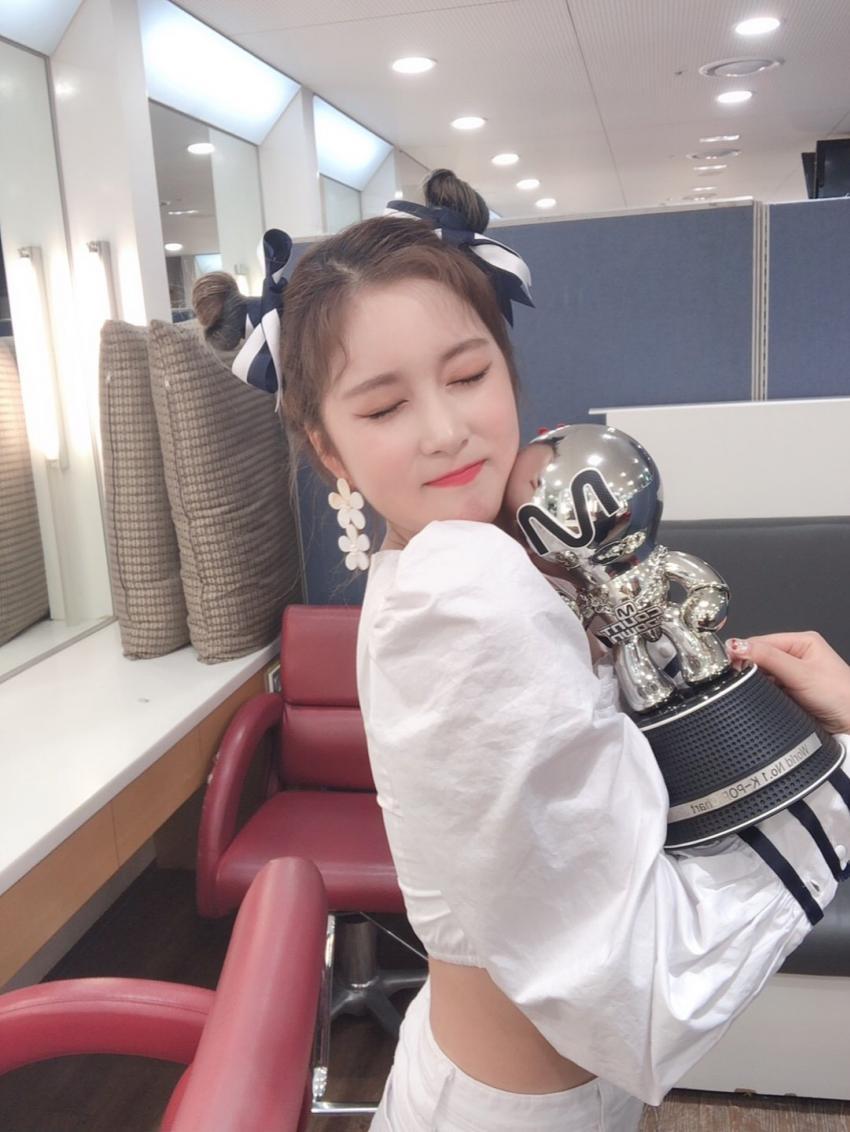 우주소녀 첫 엠카도르 하이라이트