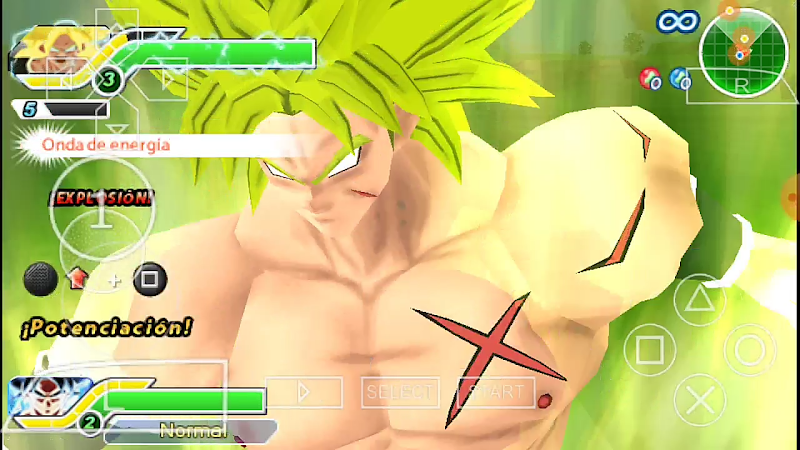 DBZ Tag Vs Japan Mod Android PSP ISO with Permanent Menu Download