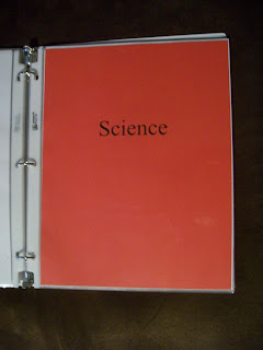 science portfolio tab