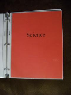science portfolio tab