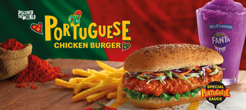 Review McDonald Portuguese Chicken Burger