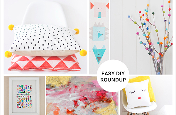 Color Me Happy! Easy DIY Roundup by Eliza Ellis