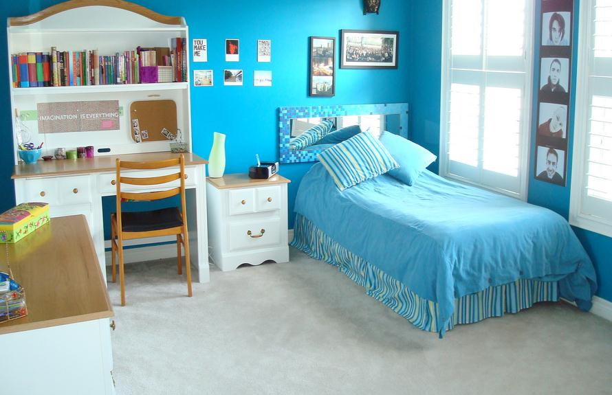 Blue And White Bedroom For Teenage Girls home priority: modern futuristic teen girl bedroom ideas
