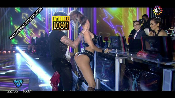 Barby Silenzi hot sexual dance in mini shorts Damageinc Videos HD
