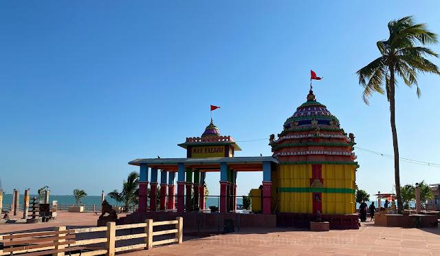 A view of Maa Kalijai Temple
