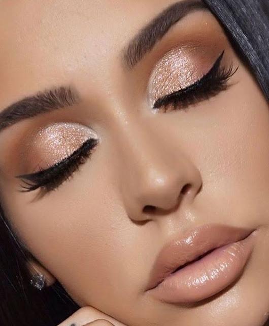 50 Ideias incríveis de maquiagem simples para noite - Karla Abelenda