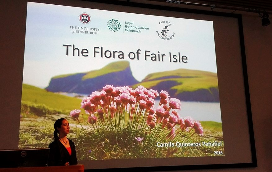"""Fair Isle: """"The Flora of Fair Isle"""" - MSc research project by ..."""