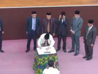 Dewan dan Eksekutif Tanda Tangani KUPA PPAS 2019