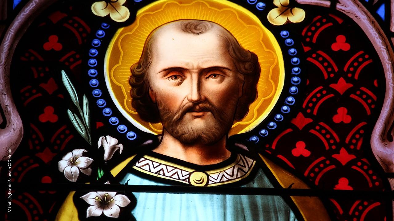 saint joseph vitrail eglise de sauvain ©Defrade