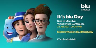 Virtual Launching It's Blu Day