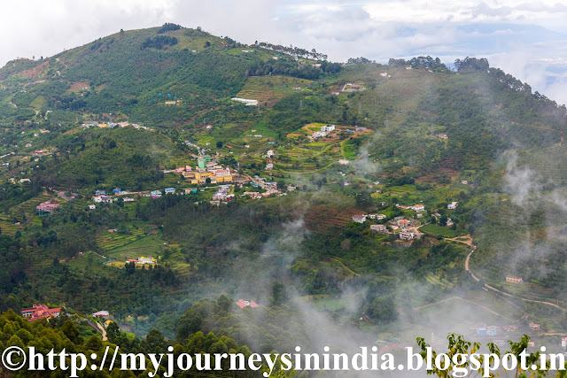 View of Kodaikanal from Coaker's Walk Kodaikanal