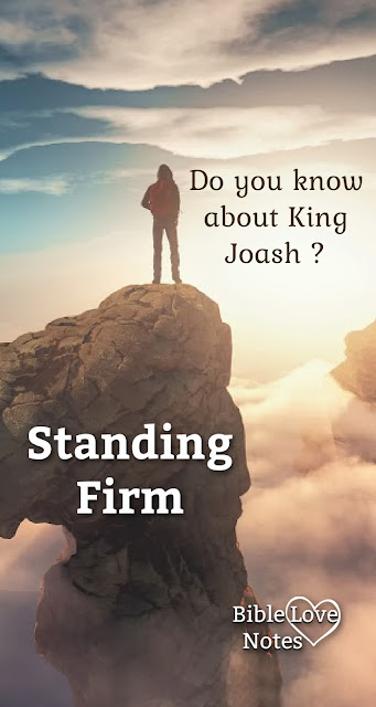 King Joash teaches us a very important lesson about true and false believers under cultural pressure.