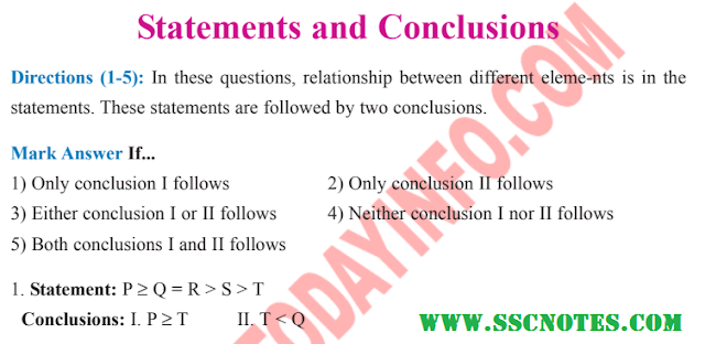 Statements and Conclusions Notes pdf Download