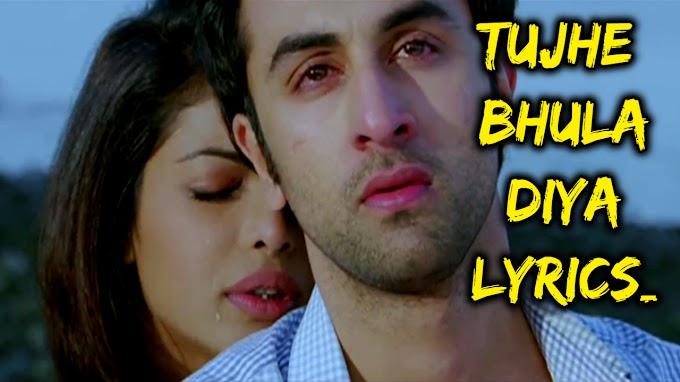 Tujhe Bhula Diya Lyrics - Aanjaana Aanjaani | Lyrics Over A2z