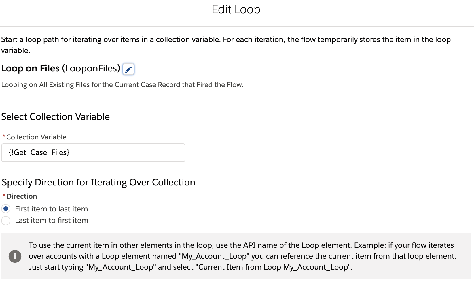 Clone Files using Salesforce Flow