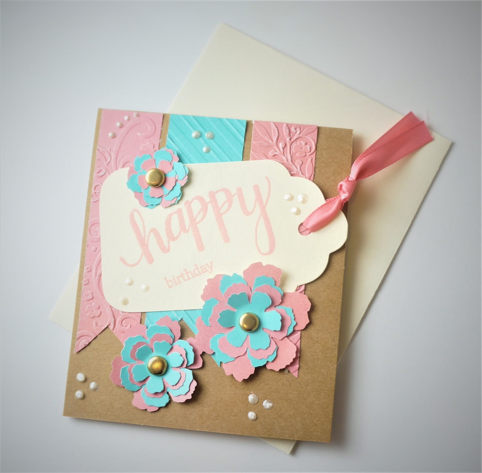 Cut n edge crafts sweet and simple birthday card sweet and simple birthday card bookmarktalkfo Image collections