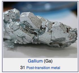 gallium boron group