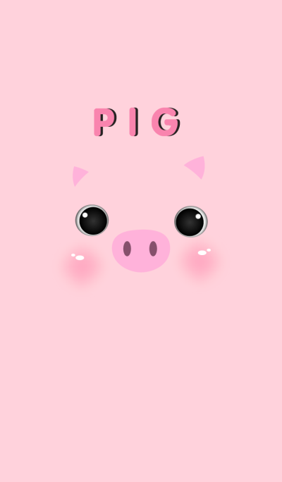 Simple Pink Pig theme