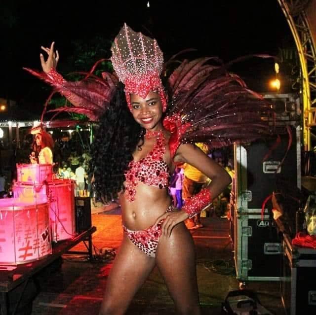 No Festival das Estrelas Brilhará, Yaralis Como  Rainha de Bateria da Escola de Samba Imperavi de Ouros em 2020