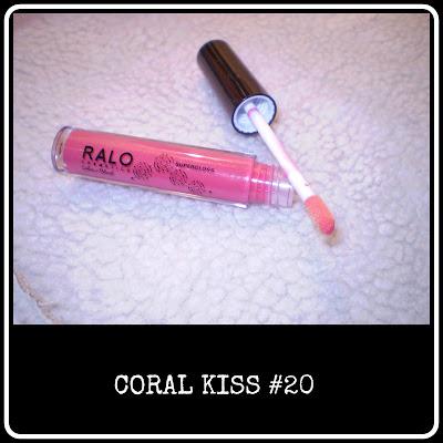 Coral Kiss lipgloss