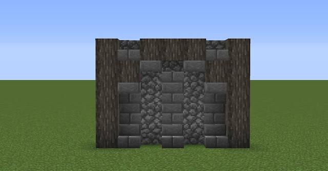 Simple Minecraft Wall Designs