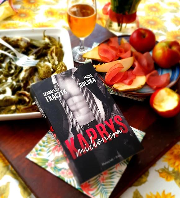 kaprys milionera,wydawnictwo prószyński s-ka,apryczki adron,pimientos de padron,dobra książka, pikantne książki,dobra lektura,książka na lato,książka dla kobiety,blogerka kulinarna,z kuchni do kuchni