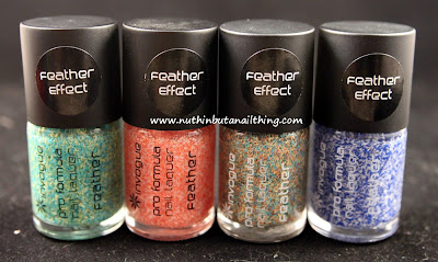 invogue feather effects swatches
