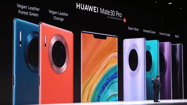 مواصفات ومميزات هواتف Huawei Mate 30 و ميت 30 برو وميت 30 لايت