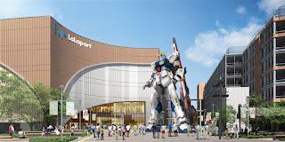 full-scale Gundam statue - RX-93 ff ν Gundam