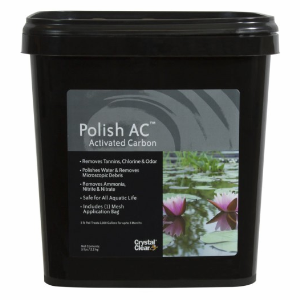 polish activated carbon