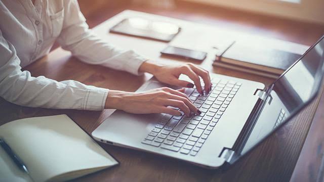 Mengirim tulisan online