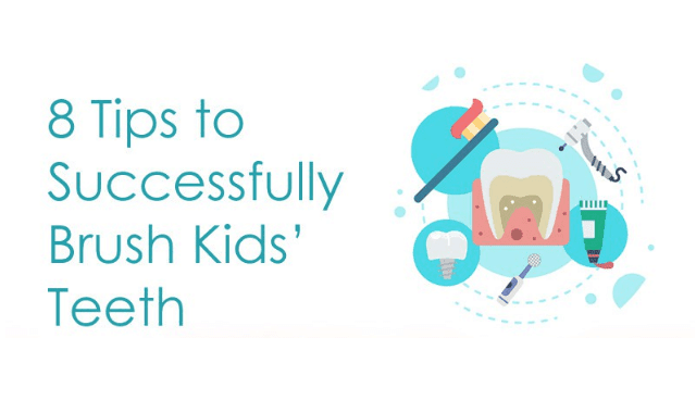 8 Tips to Successfully Brush Kids' Teeth