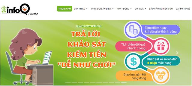 Kiếm tiền online bằng cách làm khảo sát trên InfoQ
