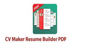 Aplikasi CV Maker Resume Builder PDF