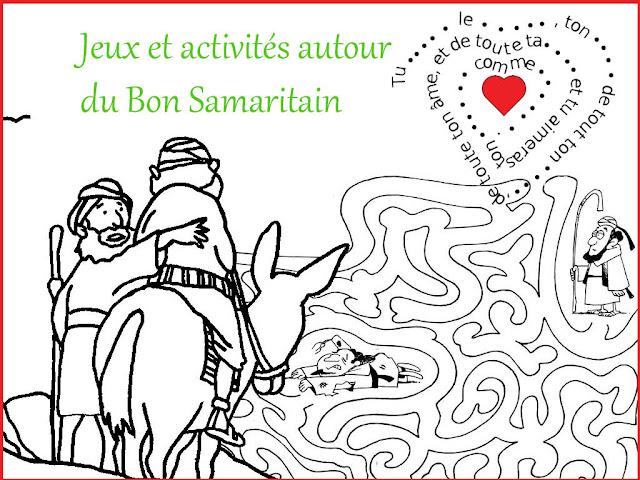 Jeux et activités autour du Bon Samaritain