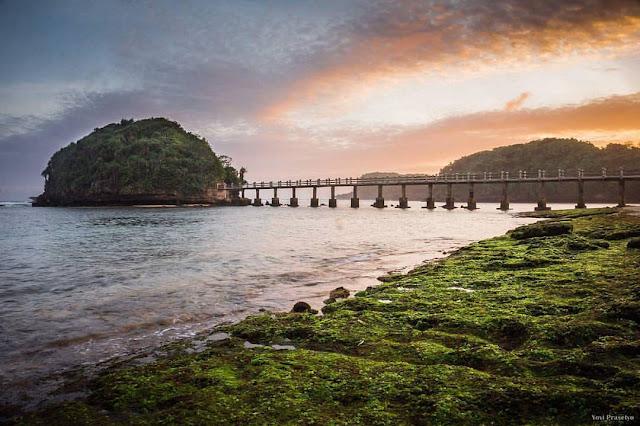 Lokasi Pantai Jembatan Panjang Malang