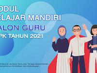 Modul Bahan Belajar Calon Guru PPPK tahun 2021