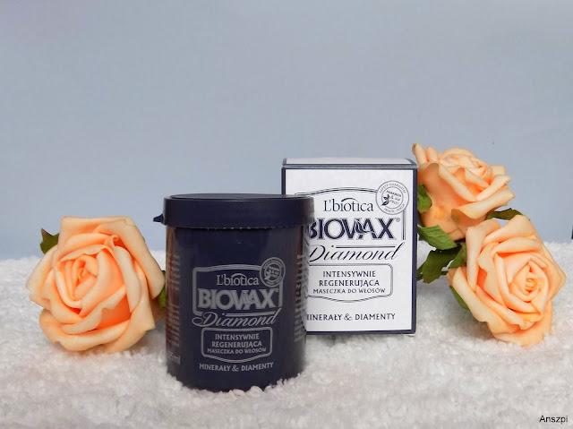 Biovax Diamond- intensywnie regenerująca maseczka do włosów, L'biotica