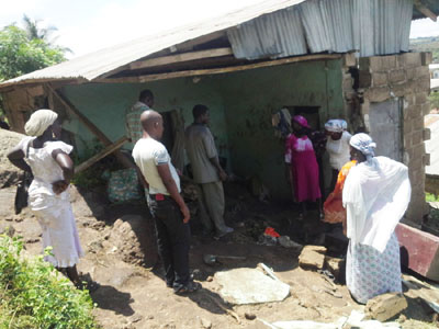 rock kills family abeokuta