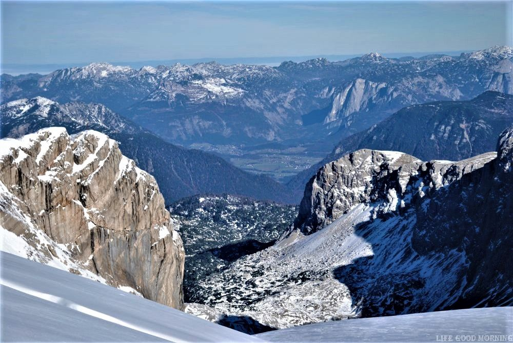 Dachstein - na austriackim lodowcu.