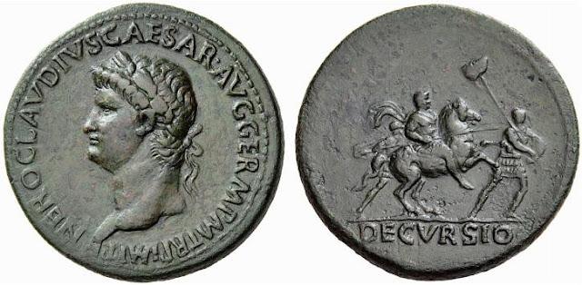 Sestercio de Nerón - 63 d.C. - Roma - RIC 104