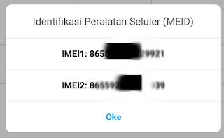Cara mengecek nomor IMEI realme