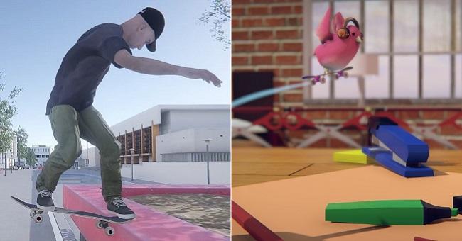 Similarities & changes in Skater XL vs Skatebird