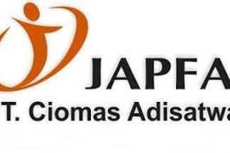 Lowongan Kerja PT. Ciomas Adisatwa (Japfa Group) Pekanbaru Agustus 2019