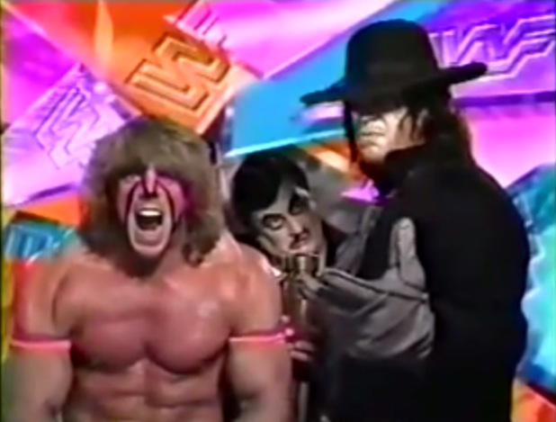Arc of the Covenant Strange Bedfellows The UltimateUltimate Warrior Undertaker