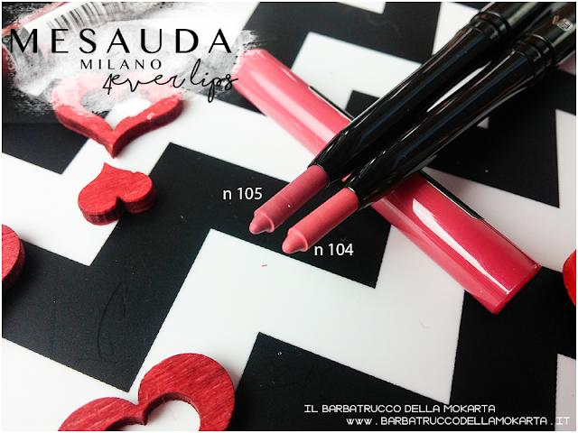 pareri recensione 4ver lips , matite labbra, automatica, mesauda