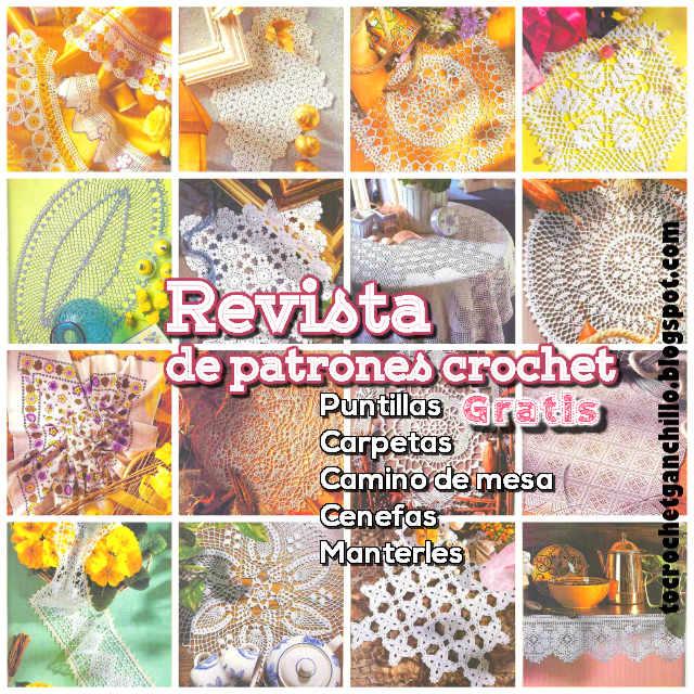 Revista de Patrones Crochet para tu Hogar ~ Gratis | Todo crochet