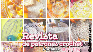 Revista de Patrones Crochet para tu Hogar ~ Gratis
