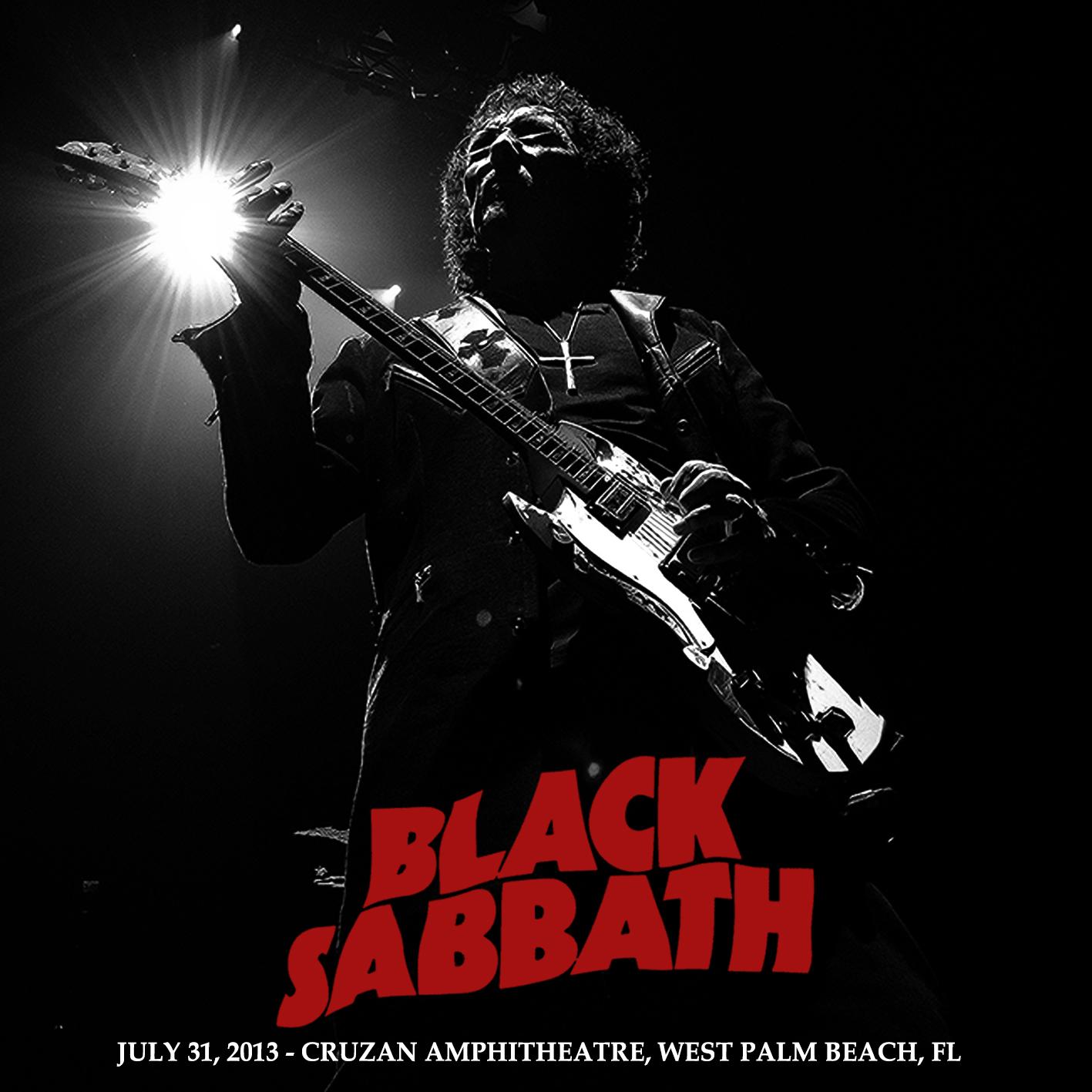 heavy rock bootlegs black sabbath 2013 07 31 cruzan amphitheatre west palm beach. Black Bedroom Furniture Sets. Home Design Ideas